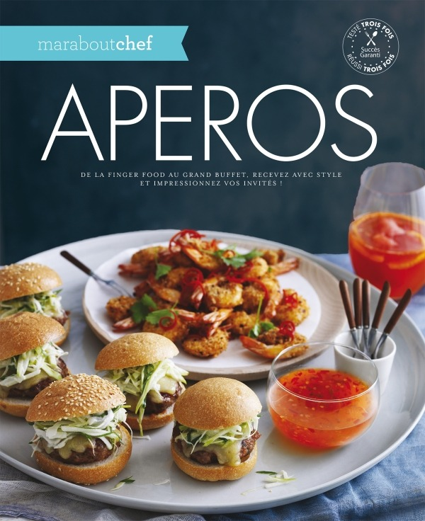marabout chef - apéros : de la finger food au grand buffet