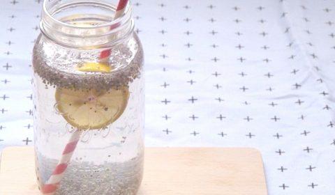une boisson fraîche et healthy : le chia fresca