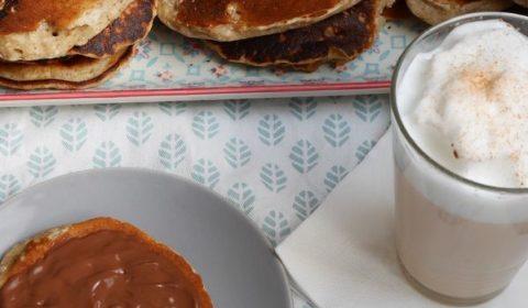 Pancakes banane lait de coco