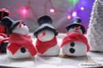 Décor de Noël en pâte à sucre