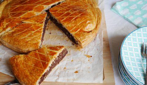 galette noix de coco et chocolat