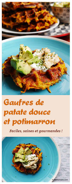 Gaufres de patate douce et potimarron : une recette simple, saine et gourmande #gaufres #patatesdouces #potimarron #recette