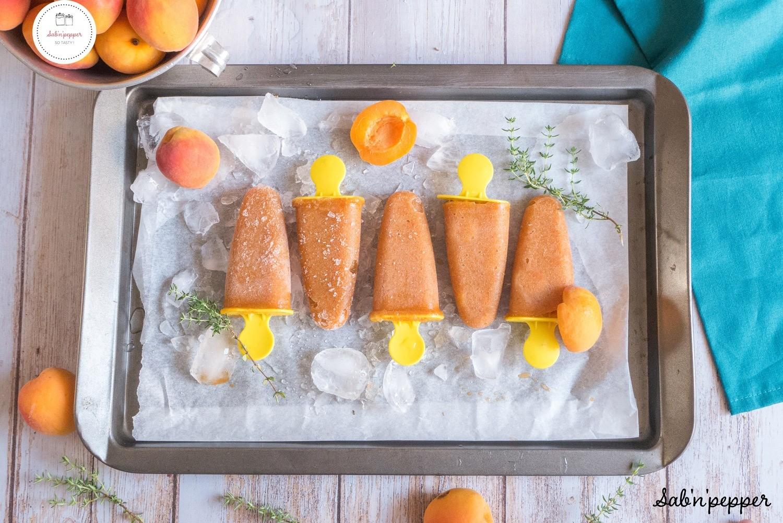 Esquimaux abricot thym : faciles à réaliser et parfaits pour les enfants