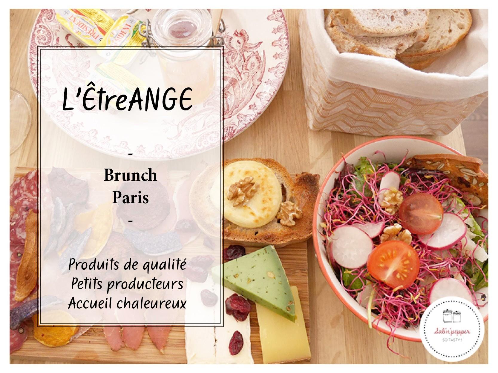"""L'ÊtreANGE et son brunch """"petits producteurs"""""""