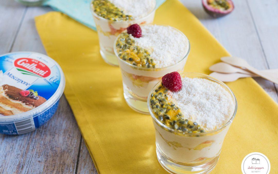 Tiramisu mangue noix de coco : facile et gourmand
