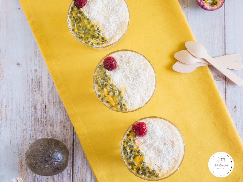 Tiramisu mangue et noix de coco : une recette exotique simple et gourmande