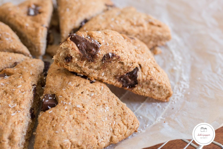 Scones chocolat et noix de coco : pour un petit déjeuner gourmand et healthy