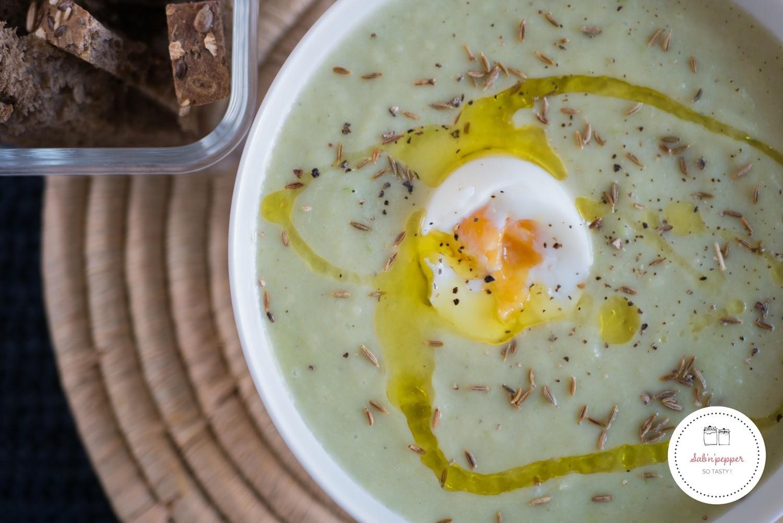 Soupe poireaux panais aux graines de cumin