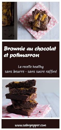 Ceette recette de brownie au chocolat sans beurre et sans sucre raffiné ravira les petits et les grands