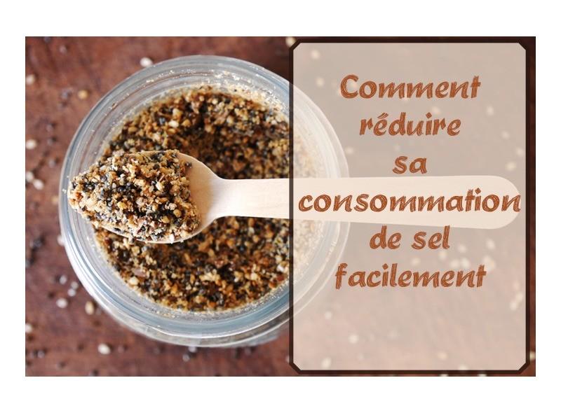 Comment réduire ta consommation de sel