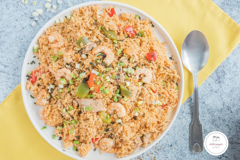 Jambalaya poulet et crevettes : la recette facile