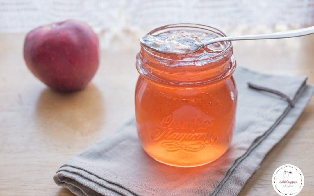 Gelée de pommes à la vanille : la recette facile anti-gaspi