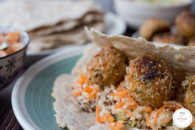 Veggie balls ; les boulettes végétariennes qui vont te faire aimer le chou #veggie balls