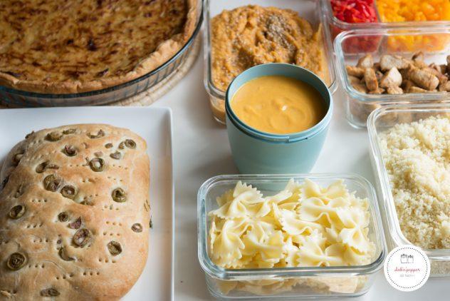 Batch cooking : 5 plats pour vos repas de la semaine