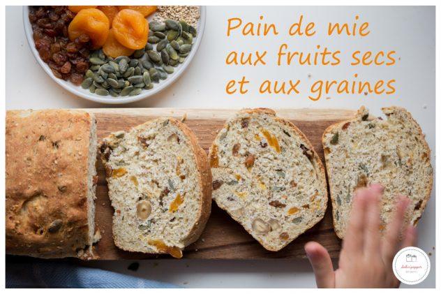 pain de mie multi-graines aux fruits secs
