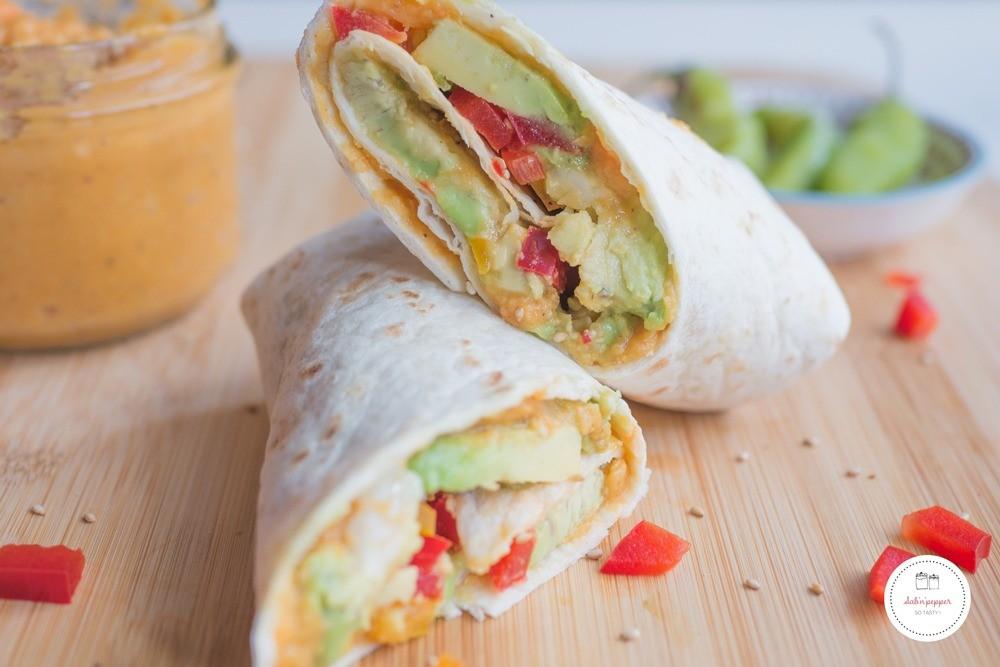 Wrap végétarien à la créole : une recette facile et parfumée