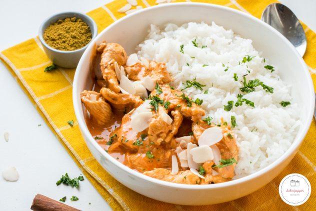 La meilleure recette de chicken butter sans beurre ! #recette #chickenbutter #chickenrecipe