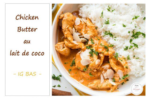 Chicken butter : la recette facile - sans beurre, sans gluten et sans lactose #recette #chickenbutter #recettefacile