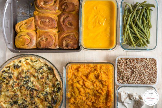 Batch cooking d'automne : menu + recettes #batchcooking #recettes