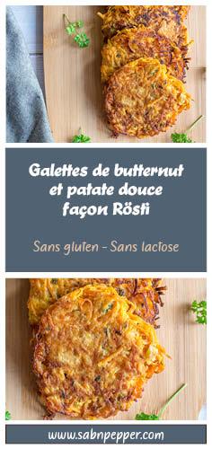 Galettes de butternut : des rosti origninaux pour faire manger des légumes aux enfants #recette #butternut #recettefacile #recette #automne