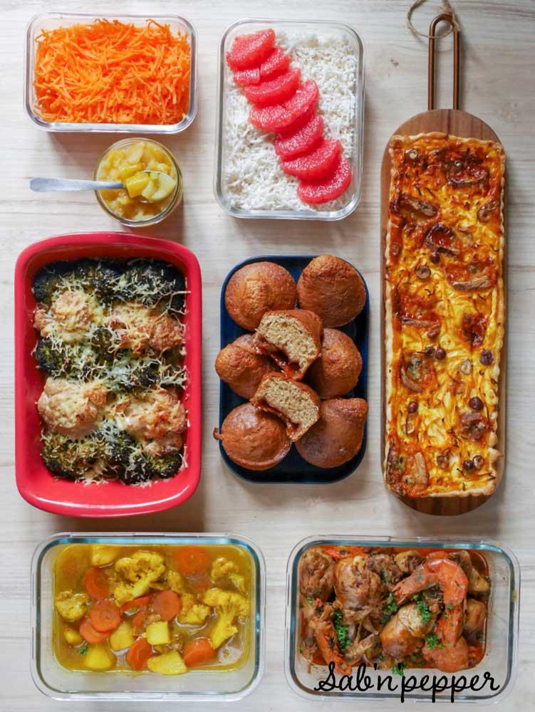 Batch cooking d'hiver – Janvier