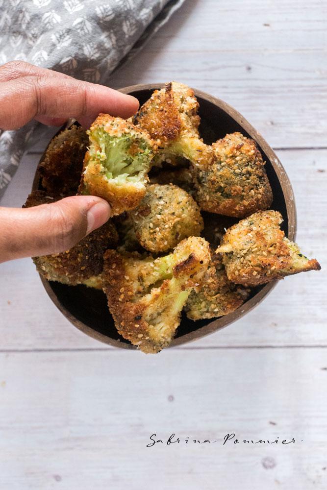 Croquettes de brocolis à la noix de coco