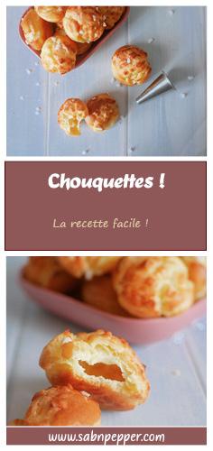 Cette recette de chouquettes faciles et moelleuses fera plaisir à tous les gourmands ! #recette #chouquettes #recettefacile