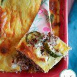 Flan courgettes quinoa feta : la recette facile et équilibrée #recette #quinoa #quinoarouge