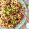 Taboulé créole : une recette facile tout en fraîcheur #taboulé #recettefacile #recetteantichaleur