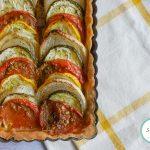 Tarte tian aux légumes d'été : une tarte estivale facile et gourmande #tian #recetteété #été