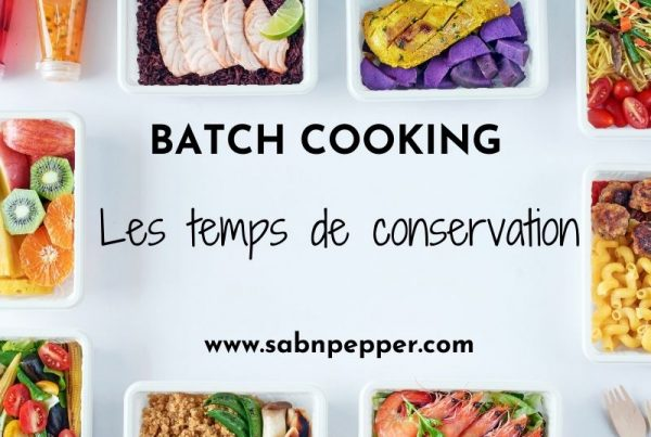 Bach cooking : les temps de conservation
