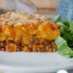 Hachis de patate douce végétarien - Un plat familiale simple qui plaira à toute la famille !