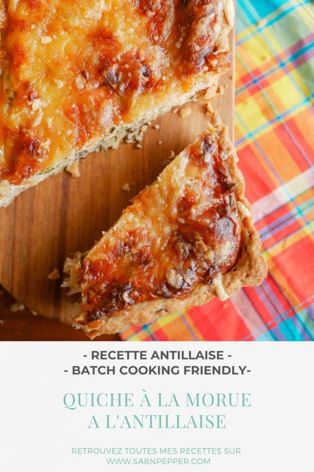 Quiche à la morue : la recette facile et savoureuse